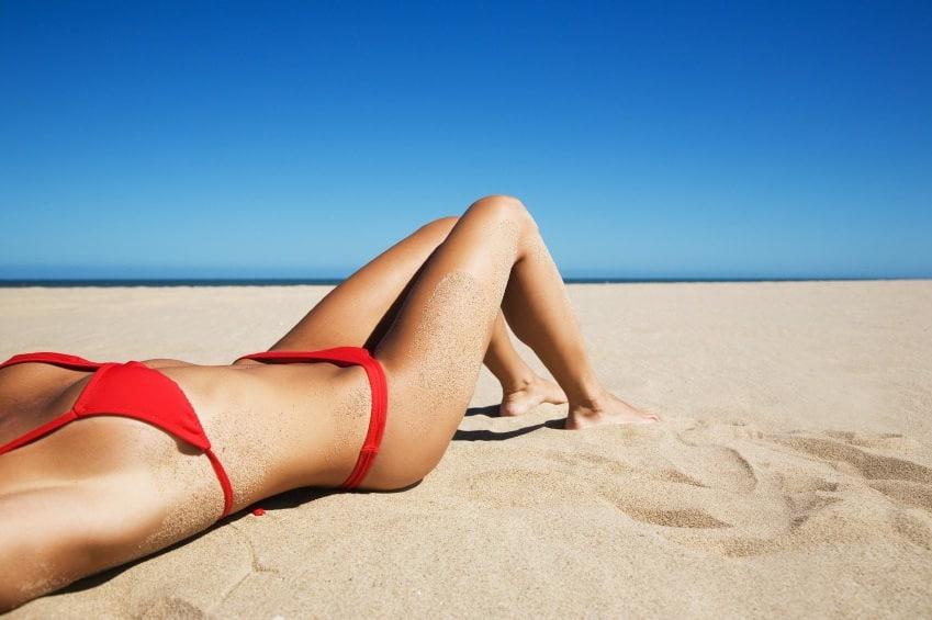 Cuidados de la piel tras un baño de sol
