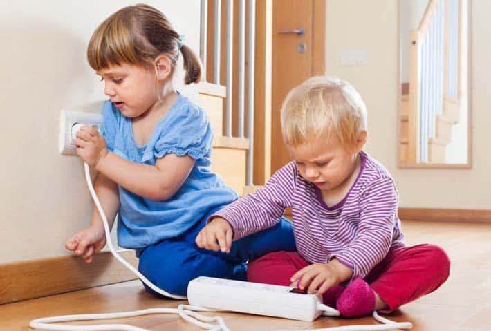 Seguridad en el hogar para nuestros hijos
