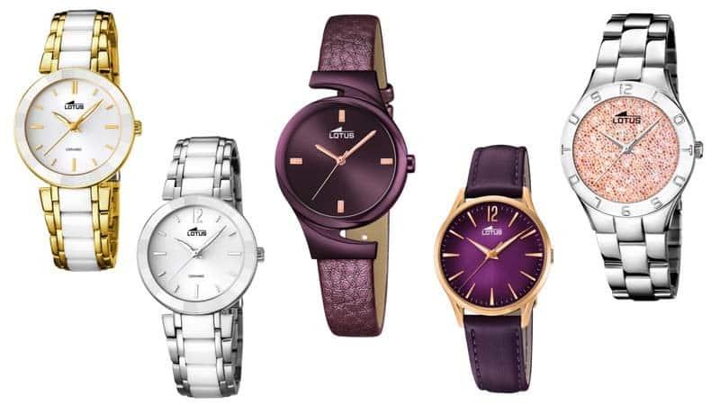 Los relojes Lotus, diseño y buen precio para ir a la última