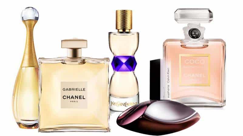 5 perfumes más vendidos para mujer